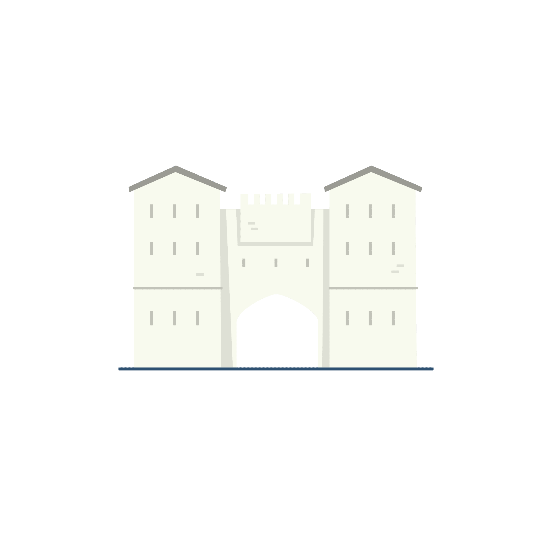 The Eastgate Chamber and Kings Bastion